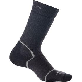 Icebreaker Hike+ Crew Socks Medium Dam jet hthr/silver/black